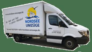 Nordsee Umzüge LKW